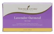 Lavender-oatmeal soap