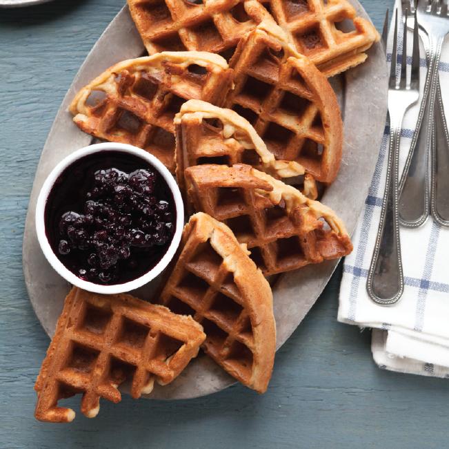 Gluten-Free Yogurt Waffles Recipe