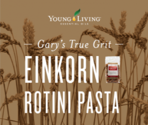 Young Living - Gary's True Grit Einkorn Rotini Pasta