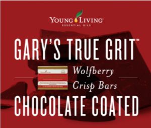 Young Living - Gary's True Grit Wolfberry Crisp Bars - Chocolate Coated