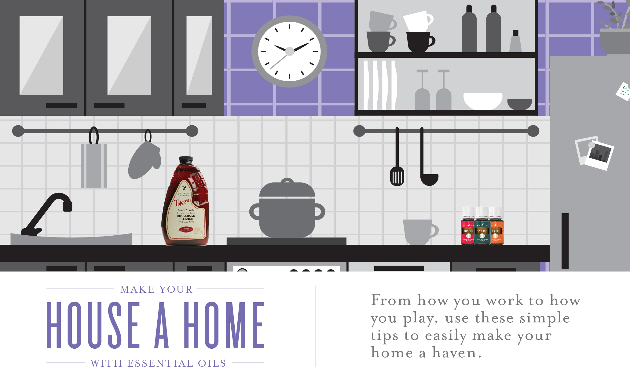 Use Essential Oils to Make Your House a Home | Young Living Blog
