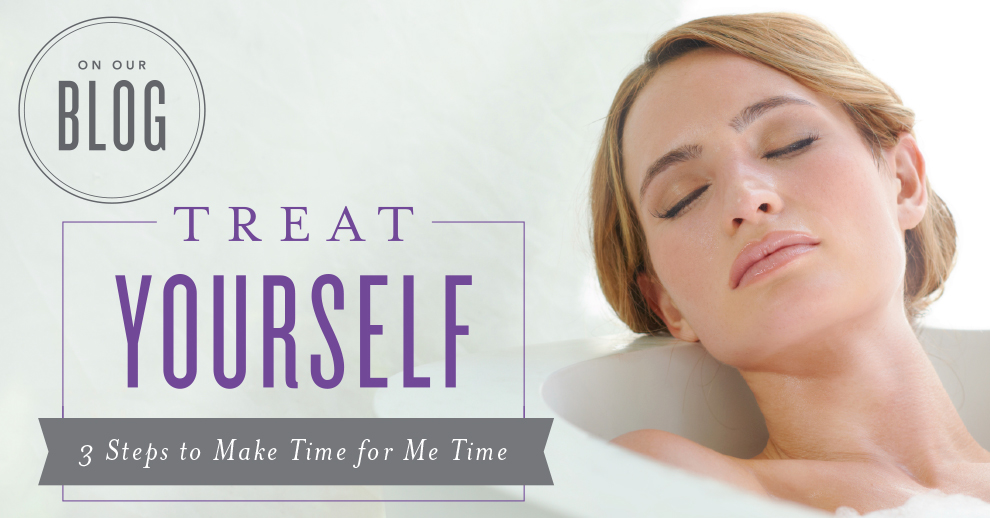 Young Living, Treat Yourself—3 Steps to Make Time for Me Time