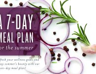 7 Day Meal Plan