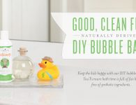 Young Living DIY - Bubble Bath with KidScents Bath Gel