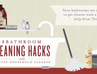 Bathroom Cleaning Hacks with Young Living