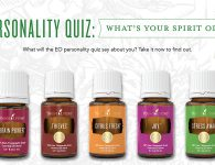 Young Living Personality Quiz - Essential Oils: Citrus Fresh, Thieves, Joy, Stress Away, Brain Power