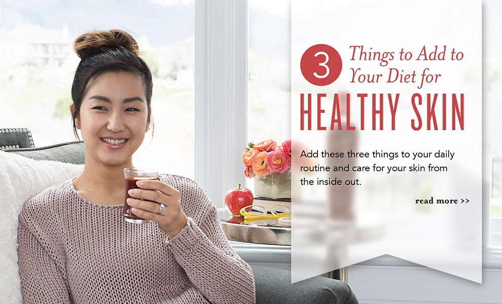 Beauty from the Inside out with Young Living Essential Oils - Master Formula, OmegaGize3, NingXia Red, Longevity, Super C