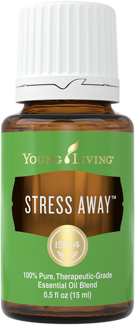 Stress Away essential oil with Vanilla