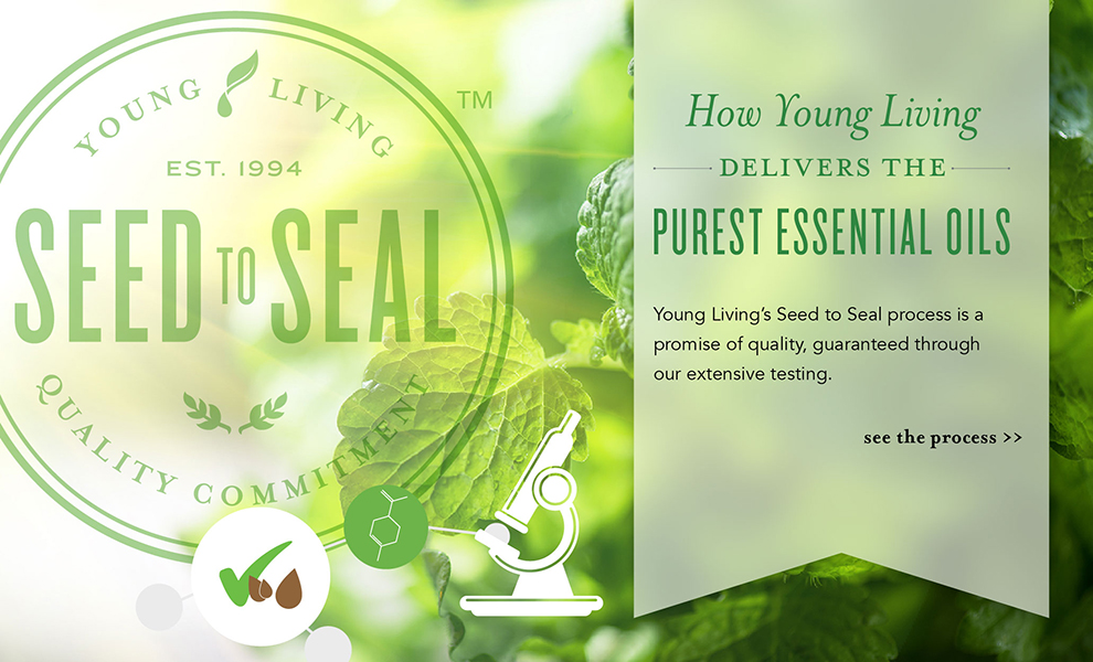 Young Living's Seed to Seal Process - oil testing, Melissa