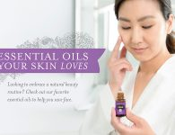 Young Living Essential Oils for Skin: Ylang Ylang, Geranium, Cedarwood, Frankincense, Lavender