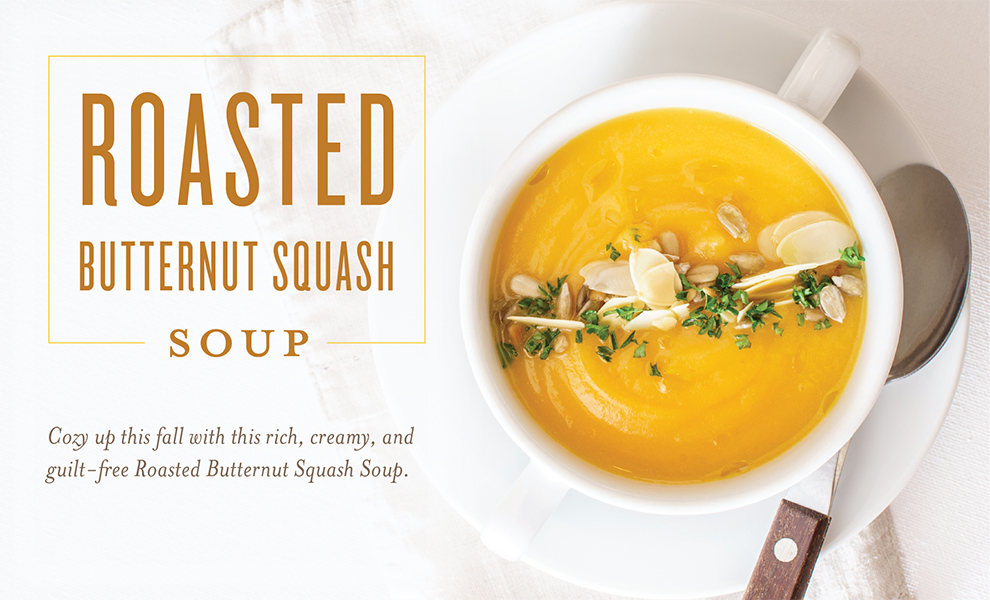 Roasted Butternut Squash Soup Header
