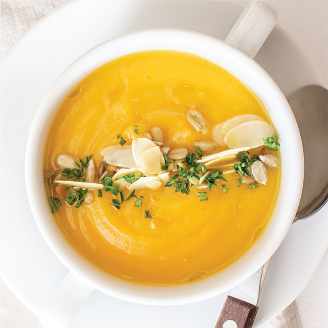 Roasted Butternut Squash Soup Tile
