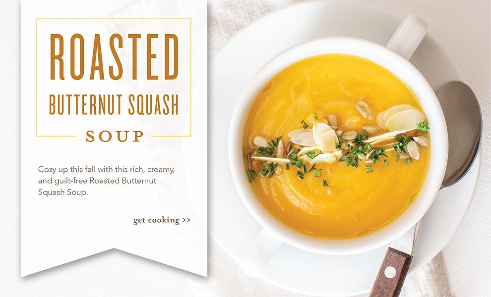 Roasted Butternut Squash Soup Slider