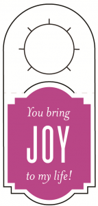 15ml Joy Gift Tag