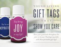 Young Living Printable Gift Tags