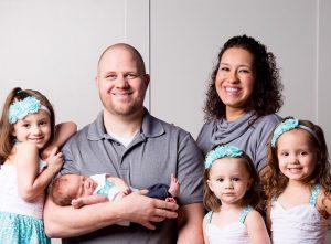 Eli Adams' Family