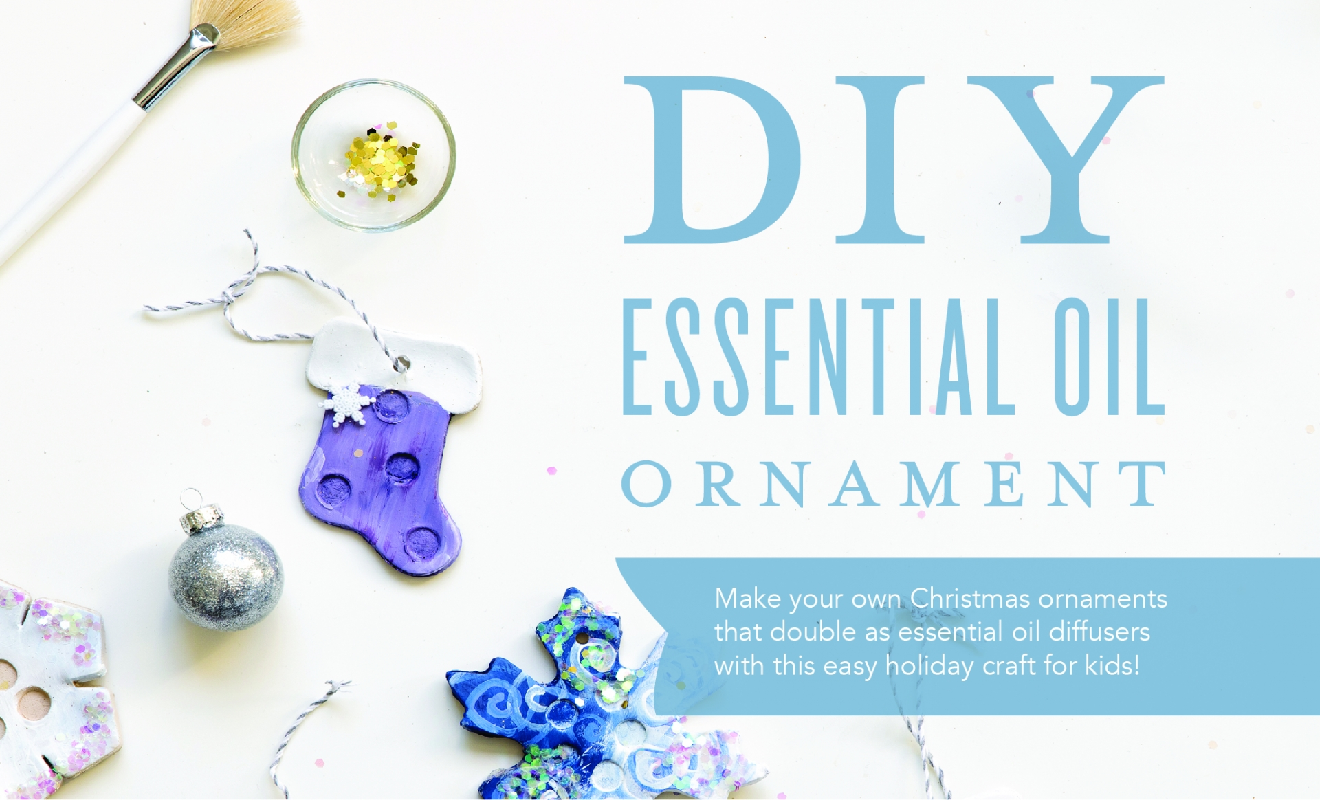 DIY Essential Ornament Diffuser Header