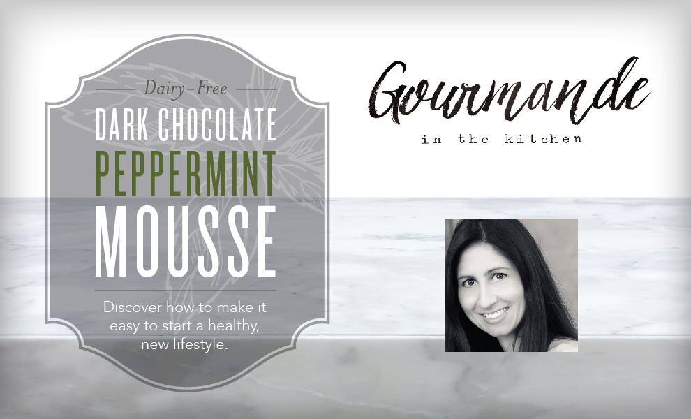 Dark Chocolate Peppermint Mousse Recipe