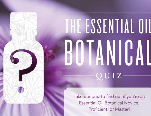 The Essential Oil Botanical Quiz