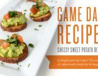 Game Day Recipe Header