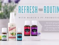 Young Living Essential Oils March 2017 PV Promo
