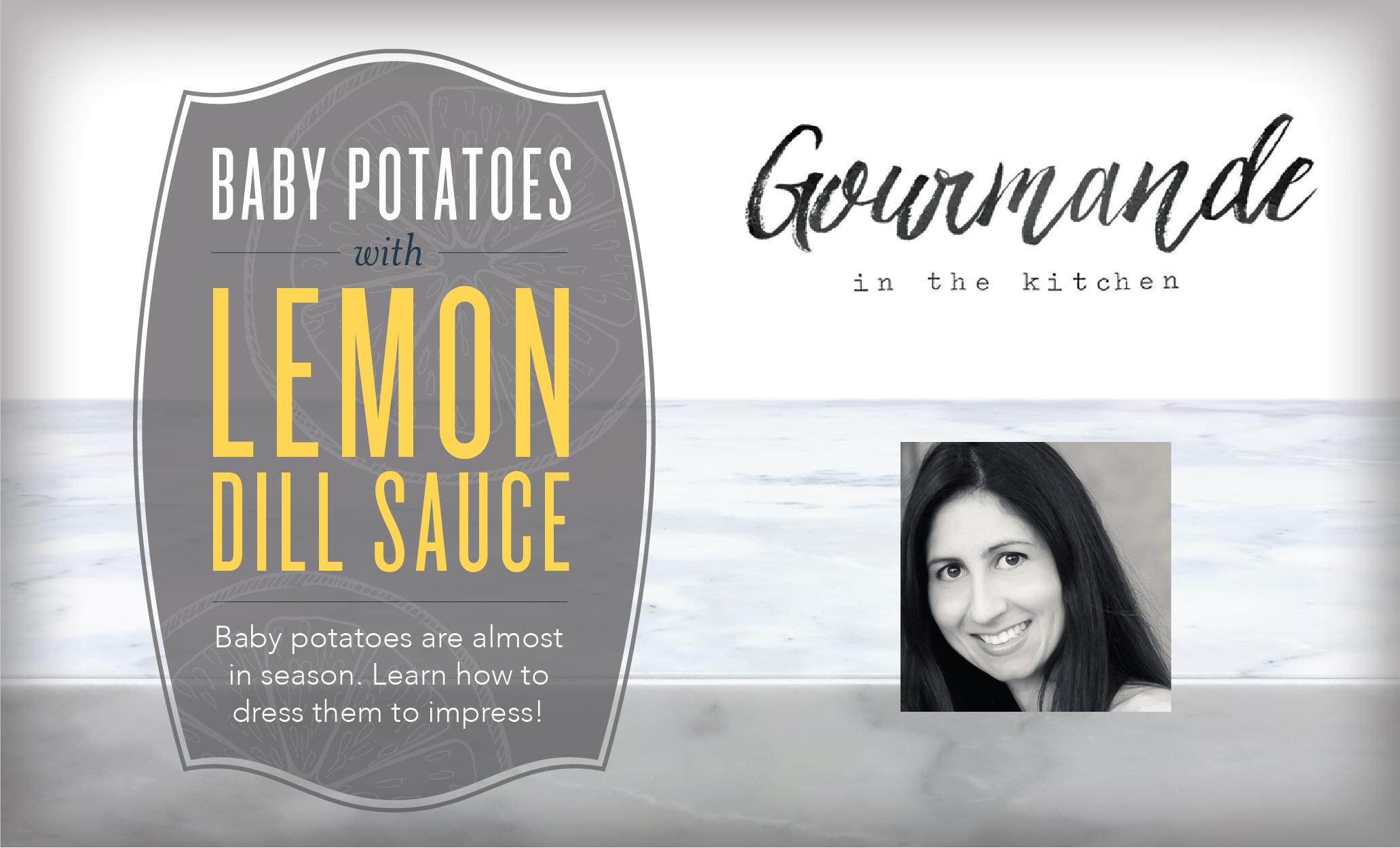 Baby Potatoes with Lemon Dill Sauce Header