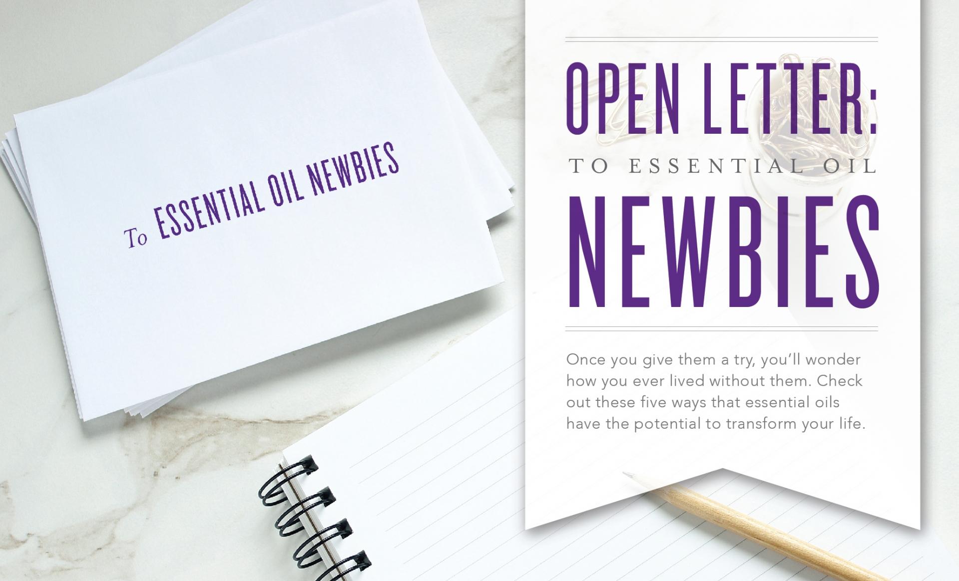 Open Letter Header