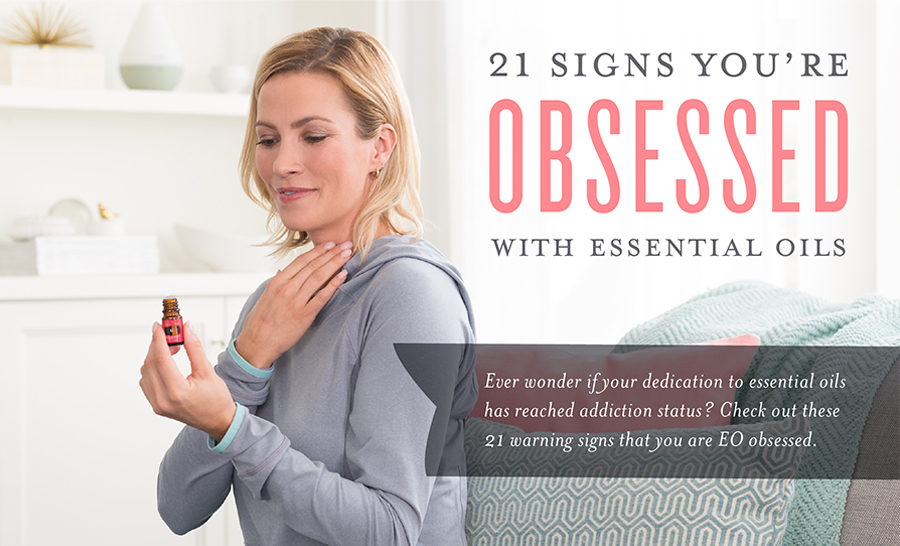 Young Living Obsessed with Essential Oils Header