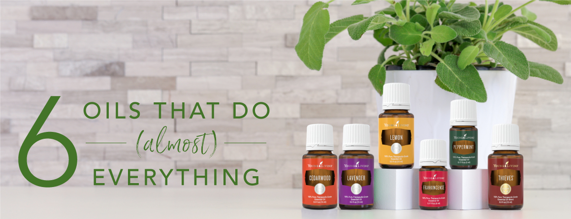 6 essential oils that do almost everything
