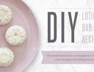 DIY Lotion Bar Recipe Header