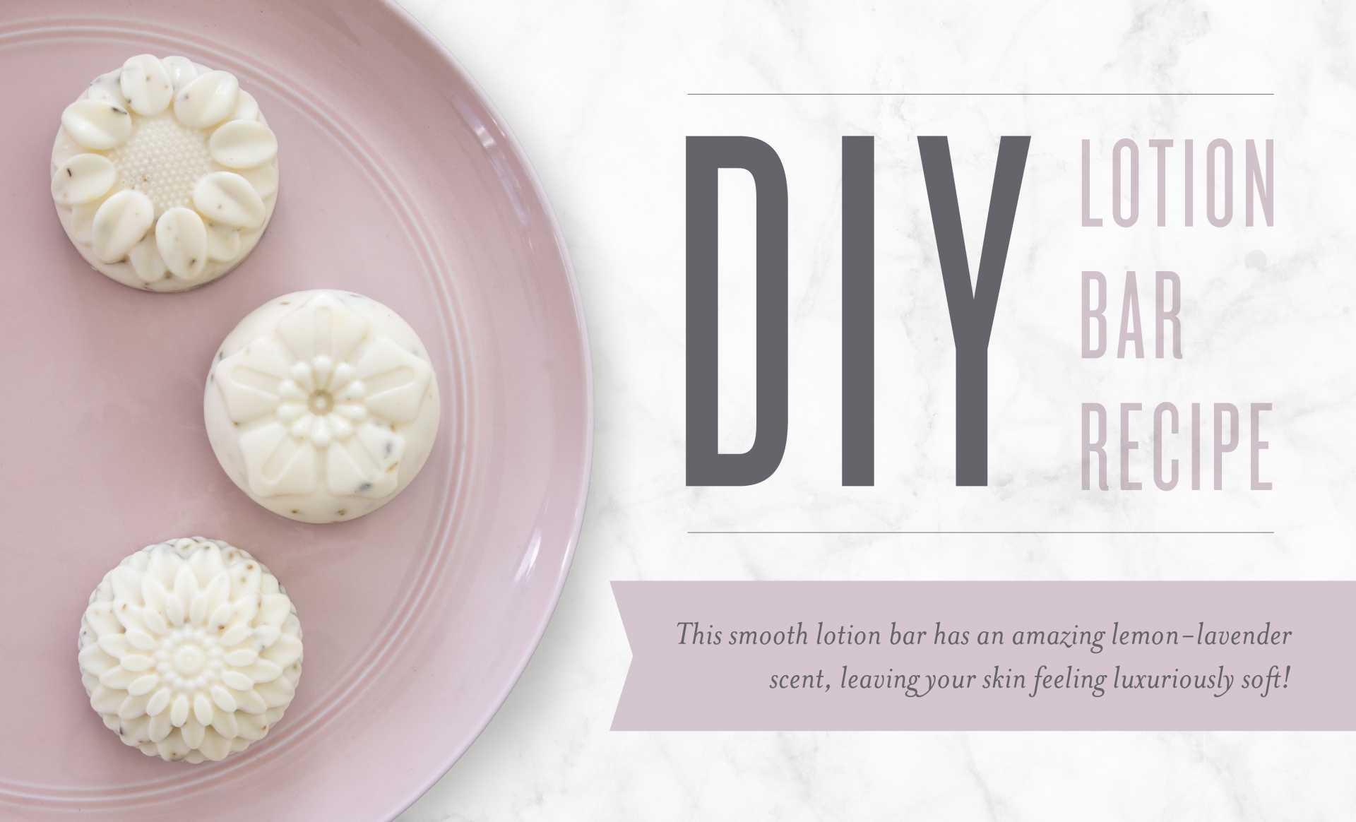 DIY Lotion Bar Recipe banner