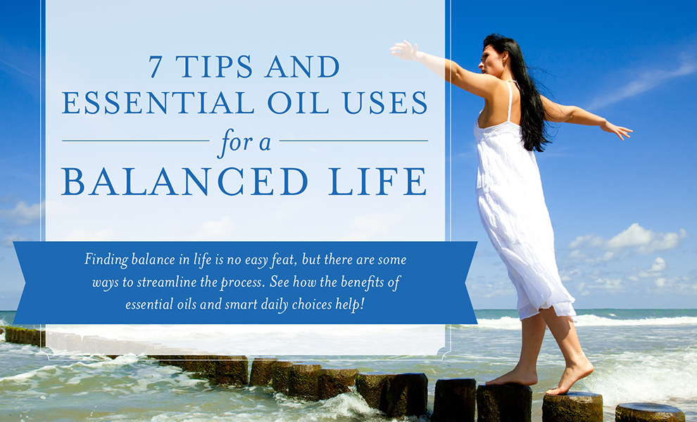 Young Living Balanced Life Header