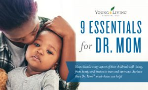 Young Living Essentials for Dr. Mom Header