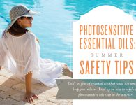 Photosensitive essential oils safety tips