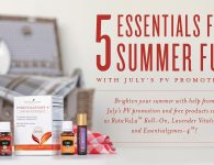 Five Learn five essentials for summer in July PV Promo for summer