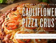Young Living Cauliflower Pizza Crust Recipe