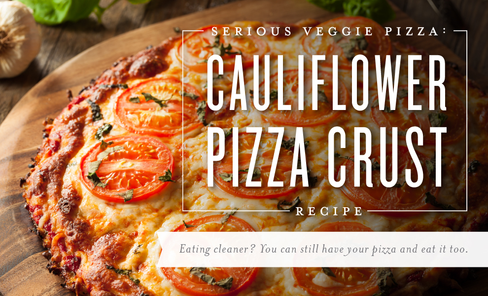 Young Living Cauliflower Pizza Crust Recipe