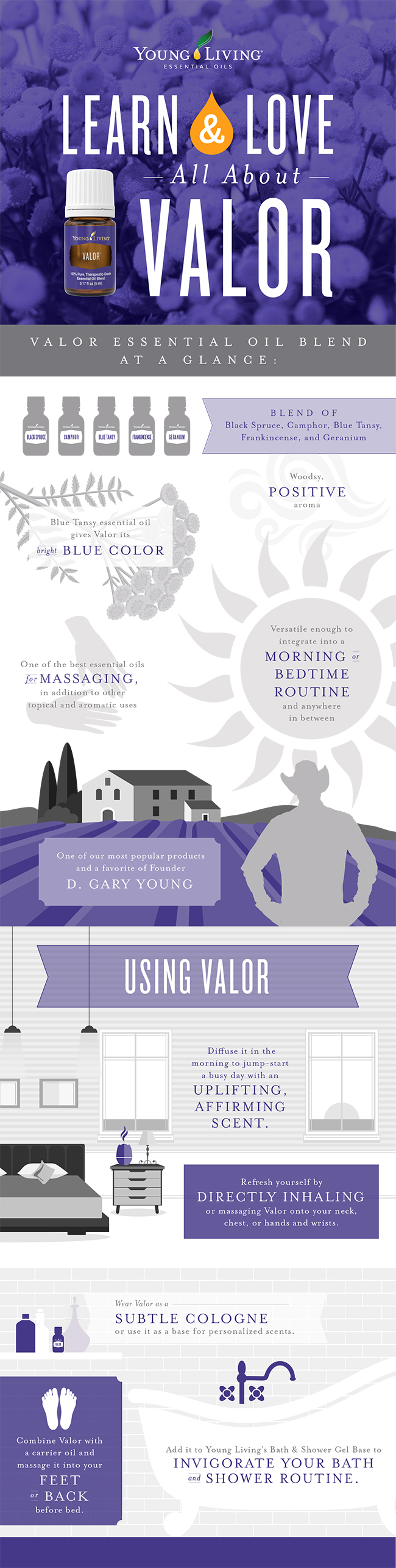 Young Living Valor Infographic