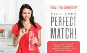 Young Living Membership Types Infographic