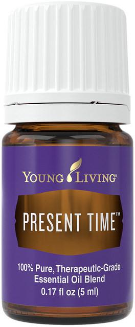 Minyak esensial Waktu Present