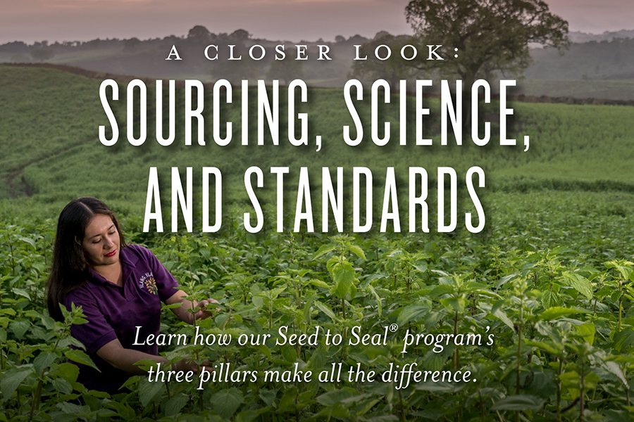A closer look at Seed to Seal: Sourcing, Science, and Standards