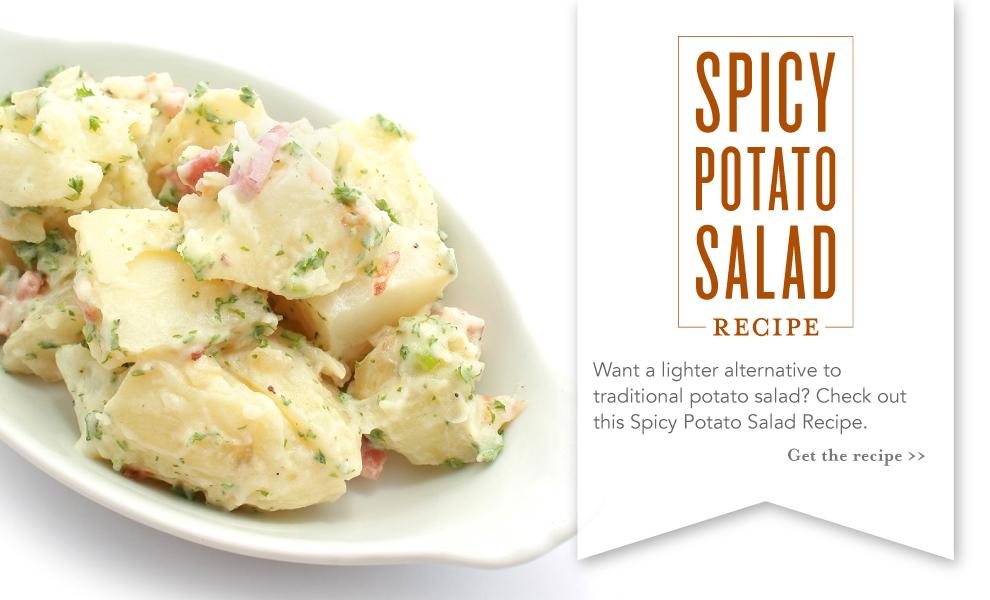 spicy potato salad recipe with essential oils slider
