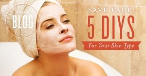 DIY face masks for your skin type
