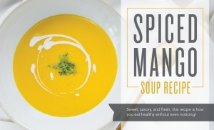 Spiced Mango Soup Recipe