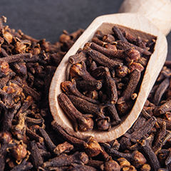 Clove essential oil and eight ways to utilize the benefits of clove this holiday season.