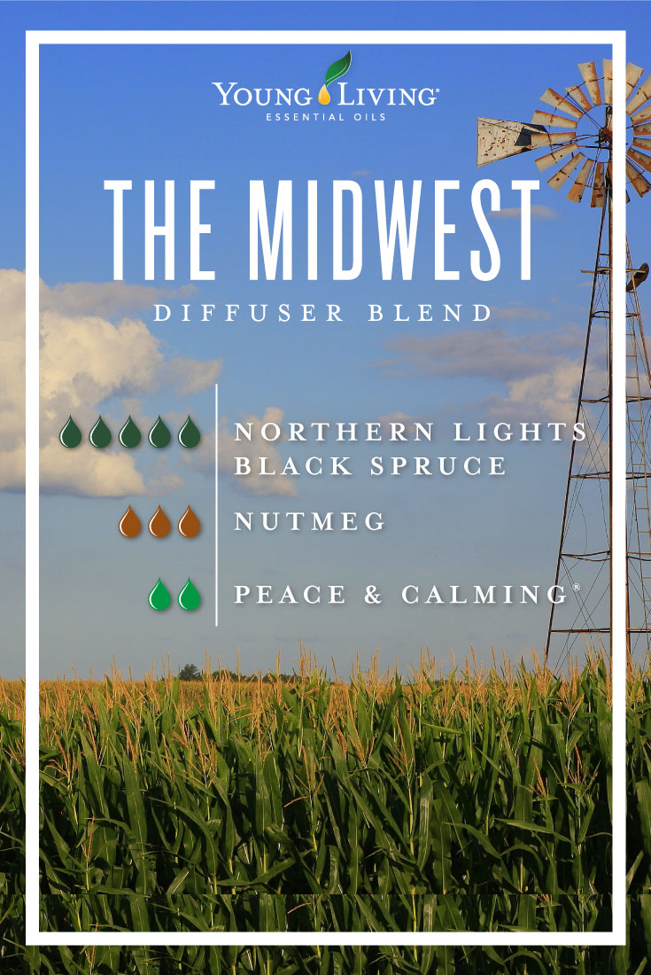 The Midwest essential oil diffuser blend