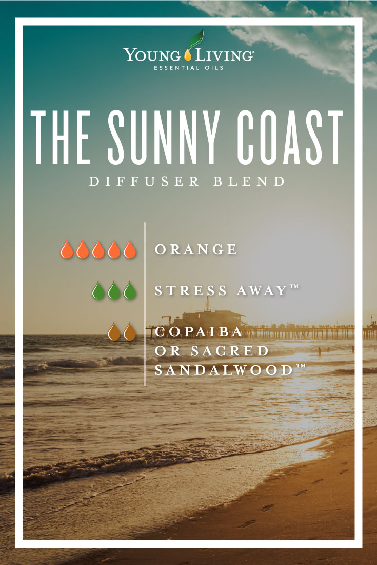 The Sunny coast essential oil diffuser blend