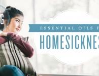 Essential oils for homesickness