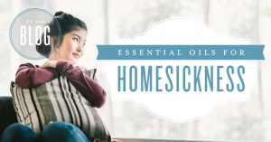 Essential oils for homesickness