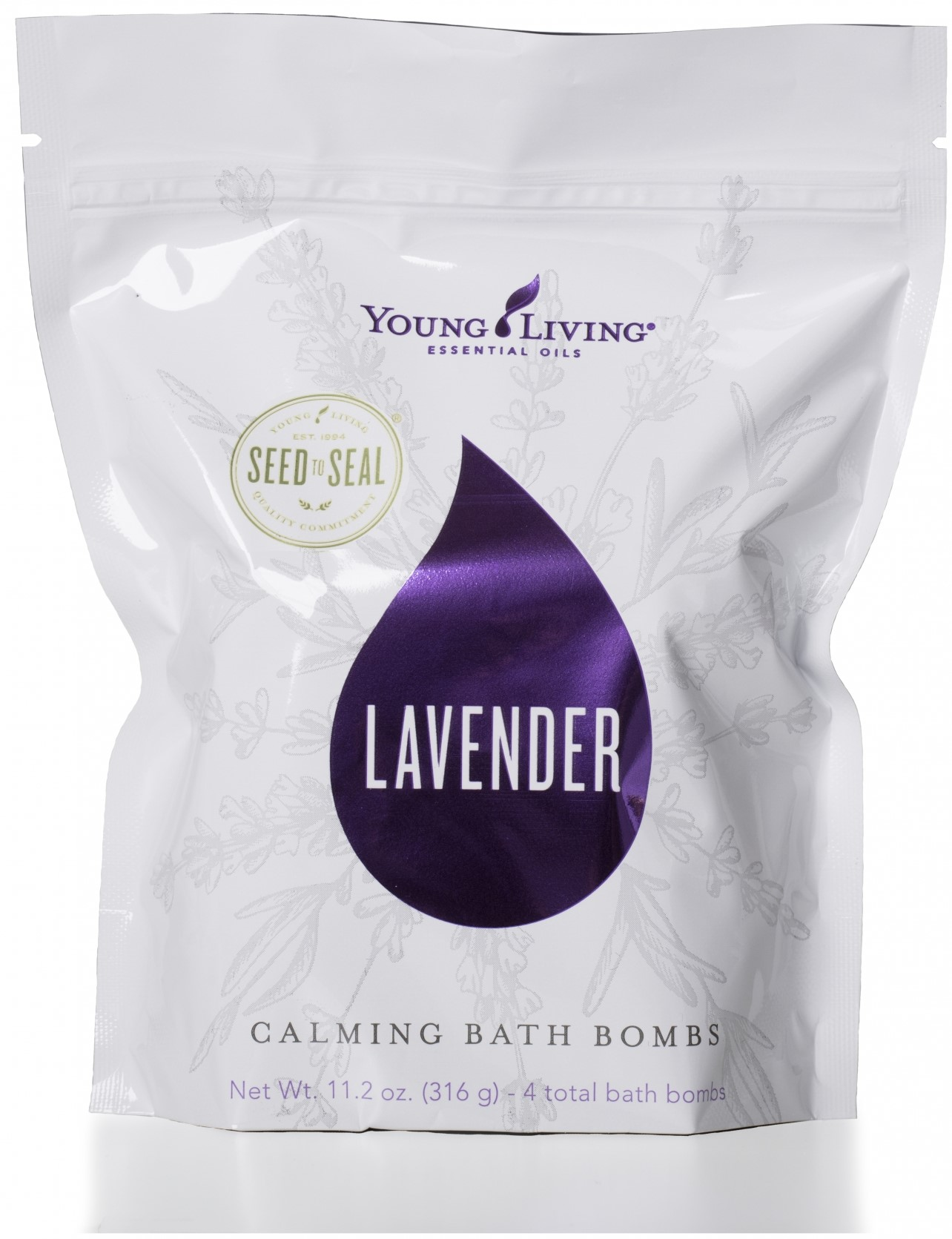 Lavender Essential oil Bath Bombs Young Living